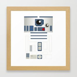 StarWars - R2D2 Framed Art Print