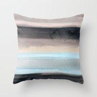 santa monica Throw Pillows featuring Santa Monica by Steven k Schmidt