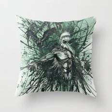 I Feel Like Shit, But At Least I Feel Something Throw Pillow