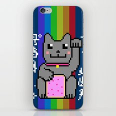 Lucky Nyancat iPhone Skin