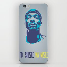 Snoop Dogg Poster Art iPhone Skin