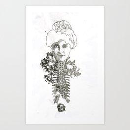 Spinal Cord Art Print