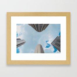 Sky Limit Framed Art Print