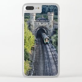Clayton North Portal Clear iPhone Case