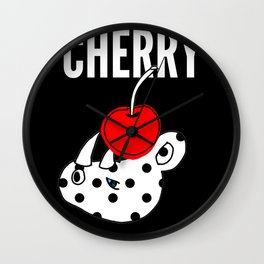 CHERRY & RHINO Wall Clock