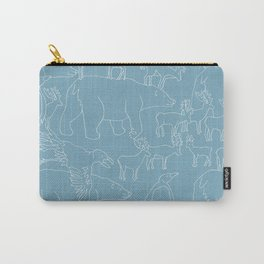 Global warming and animal migration 03 Carry-All Pouch