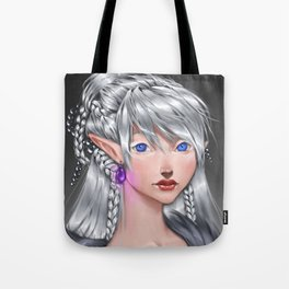 The White Mage Tote Bag