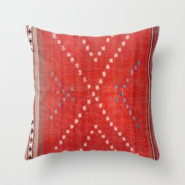 Fethiye Southwest Anatolian Camel Cover Print Throw Pillow