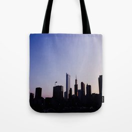 Colors of Chicago Tote Bag