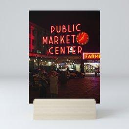 Public Market II Mini Art Print