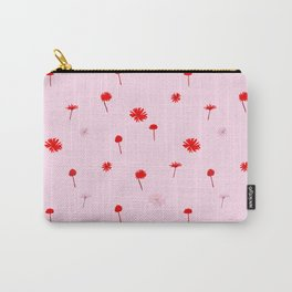 Daisies and Clover Carry-All Pouch