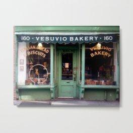 Vesubio Bakery (in color) Metal Print