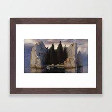 Arnold Böcklin - The Isle of the Dead Framed Art Print