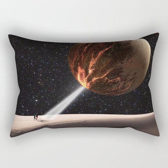 Go into Light Rectangular Pillow