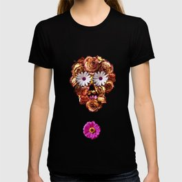 Withering Rose Skull T-shirt