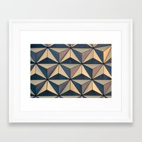 florida Framed Art Prints featuring Florida by Katie Scully