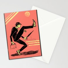 Silly Walk Stationery Cards