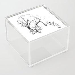 A Windy Day Acrylic Box