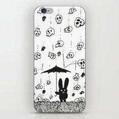 I'm only happy when it rains (skulls) iPhone & iPod Skin