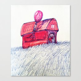 Stable Canvas Print