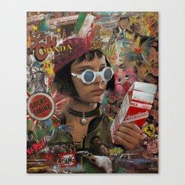 Mathilda the Professional Canvas Print