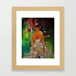 Little Ballerina Framed Art Print