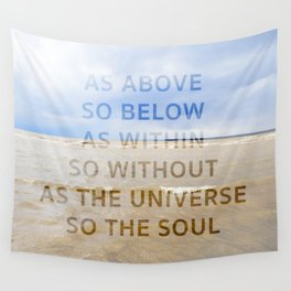 As the Universe, So the Soul Wall Tapestry
