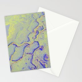 Petrified color Stationery Cards