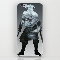 skyrim iPhone & iPod Skins featuring Skyrim by Ioana Muresan