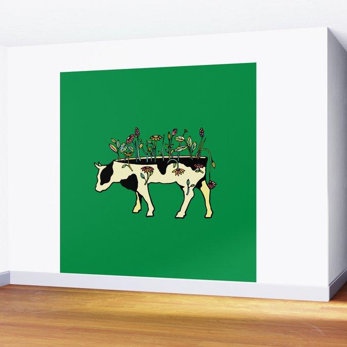 Cow Me Vegan Wall Mural