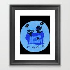 Love/hate Framed Art Print