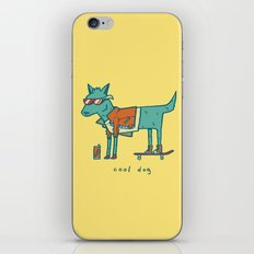 Cool Dog iPhone & iPod Skin
