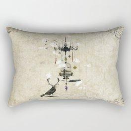 The Crow's Treasures Rectangular Pillow