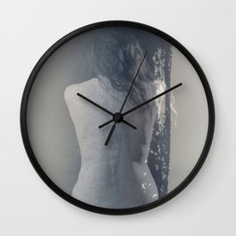 Woman`s body Wall Clock