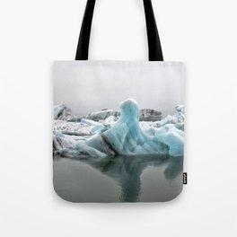 Jokulsarlon Glacier Lagoon Icebergs Tote Bag