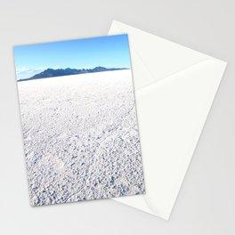 Bonneville Salt Flats, Utah Stationery Cards