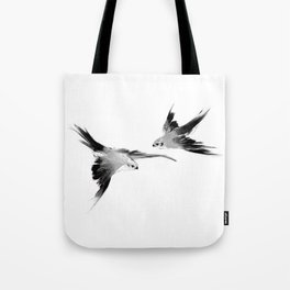 BBC Merlin: In Spite of Everything, the Stars (Twin Merlins tattoo 01) Tote Bag