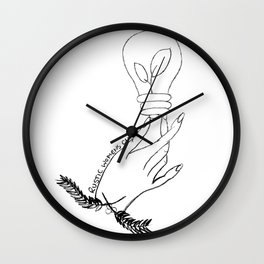 Thinking of Growth Wall Clock