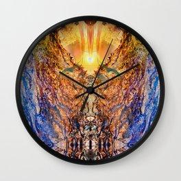 JagadAtman-SupremeSpirit  Spiritual awakening Wall Clock