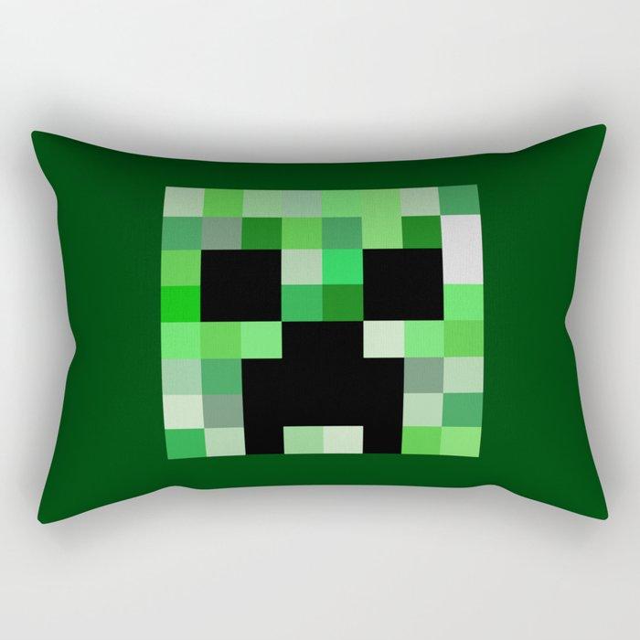 Creepa Face Rectangular Pillow