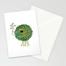 Poofy Plactus Stationery Cards