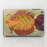 potter iPad Cases featuring MRS. POTTER by Caribbean Critters Co.