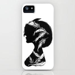 Owlphelia Silhouette iPhone Case