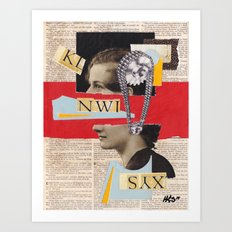 Syntax Error Art Print