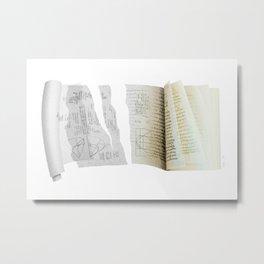 codex / Archimedes palimpsest Metal Print