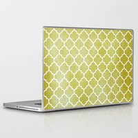 morocco Laptop & iPad Skins featuring MOROCCO - MUSTARD by pike design