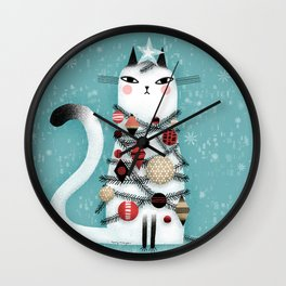 ALL DECKED OUT Wall Clock