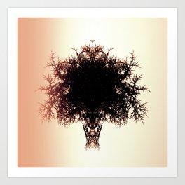 Tree of Twigs Art Print