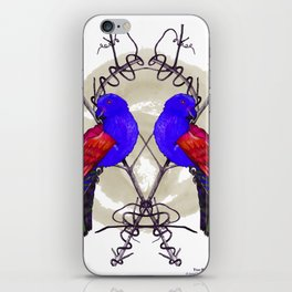 Two King Parrots iPhone Skin