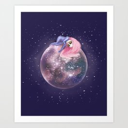 Lost in a Space / Callistori Art Print